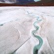 Melting glaciers — Stockfoto
