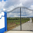 Traditional entrance of portuguese farm. - Stock Photo