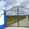 Traditional entrance of portuguese farm. — Stock Photo