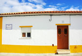 Traditional house of alentejo region. — Stock Photo