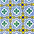 Royalty-Free Stock Photo: Portuguese tiles in old wall