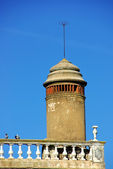 Old chimney at portuguese village — Foto Stock