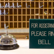 Ring bell for assitance - Stock Photo