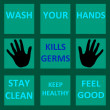 Wash your hand illustration — Stock Photo #9202597