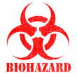 Bio hazard stamp illustration — Stock Photo #9571468
