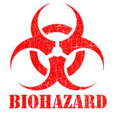 Bio hazard stamp illustration — Stock Photo