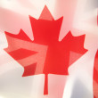 Flags of Canadand Great Britain — Stock Photo #10635993