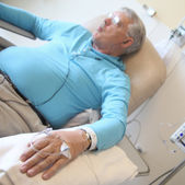 Chemotherapy patient — Stock Photo