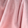 Pale pink towel - Stock Photo