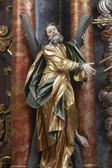 Saint Andrew apostle — Stock Photo