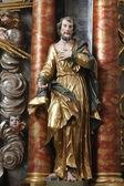 Estátua de Santo — Fotografia Stock