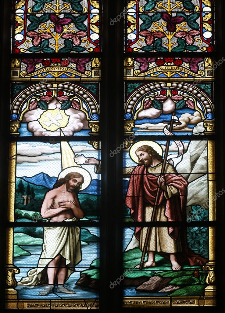 Baptism of the Lord — Stock Photo #10209244