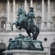 Statue of Prince Eugene of Savoy — Stock Photo #10476355