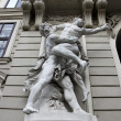 Hercules fighting Antaeus — Stock Photo #10476936