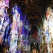 Royalty-Free Stock Photo: Light in St. Stephens Cathedral in Vienna