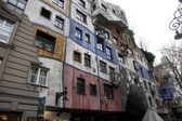 Hundertwasser House, Vienna, Austria — Stock Photo