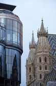 österrike wien, sankt stephens katedral — Stockfoto