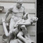 Hercules statue at the Royal Palace Hofburg,Vienna, Austria — Stock Photo #10509540