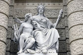 Statue depicting personifications of Europa — Stock Photo