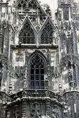 Exterior detail from Stephansdom cathedral - Vienna, Austria. — 图库照片