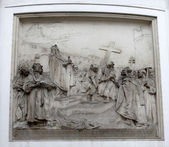 Kerk van heilige peter, wenen, oostenrijk. — Stockfoto