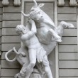 Hercules fighting the Cretan Bull, Hofburg, Vienna — Stock Photo