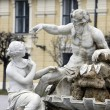 Stock Photo: Vienn- fountain in castle Schonbrunn