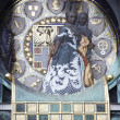 Famous Jugendstil Ankeruhr in Vienna — Stock Photo #10518340