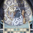 Famous Jugendstil Ankeruhr in Vienna - Stock Photo