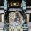 Famous Jugendstil Ankeruhr in Vienna — Stock Photo