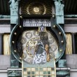 Famous Jugendstil Ankeruhr in Vienna — Stock Photo #10518440