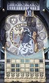 Famous Jugendstil Ankeruhr in Vienna — Stockfoto
