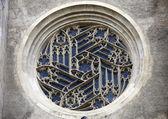 Janela de minoriten kirche em Viena, Áustria — Fotografia Stock