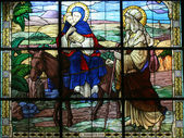 Flight into Egypt — Stock Photo