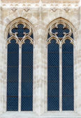 Window on the Zagreb Cathedral — Stock Photo
