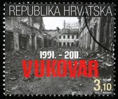 Twentieth anniversary of the destruction of Vukovar — Stock Photo
