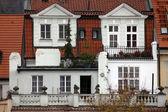 プラハのファサード — ストック写真