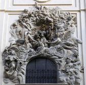 St francis assisi, st. jacob kilisesi, prag'ın — Stok fotoğraf