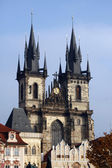 Church of Virgin Mary Before Tyn, Prague, Czech republic — Stock Photo