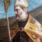 ������, ������: ZAGREB CROATIA DECEMBER 12: Paolo Veronese: St Nicholas exhibited at t
