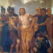 10th Stations of the Cross - Stock Photo