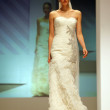 Wedding dresses fashion show - Stock Photo
