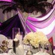 Beautiful table set for wedding — Stock Photo #9185908