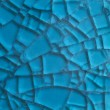 Abstract blue background with cracks — Stock Photo #10237991