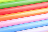 Abstract background of color wax chalks — Stock Photo