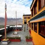 Buddhist monastery of Thikse — Stock Photo