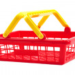 Red shopping basket — Stock Photo #8301426