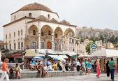 Monastiraki Square in Athens, Greece — Stock Photo