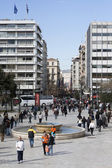 Syntagma Square in Athens, Greece — Stock Photo