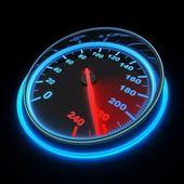 Speedometer car — Stock Photo